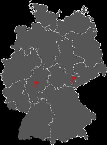 Die Standorte der Caspar-Bau GmbH